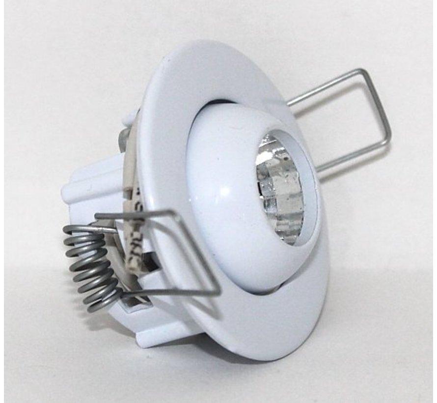 Inbouwspot Mini Eye-ball 12v g4 wit