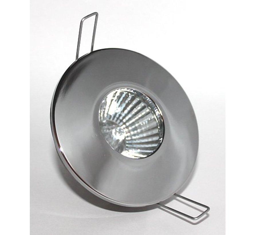 Inbouwspot / badkamerlamp Minismooth IP65 chroom