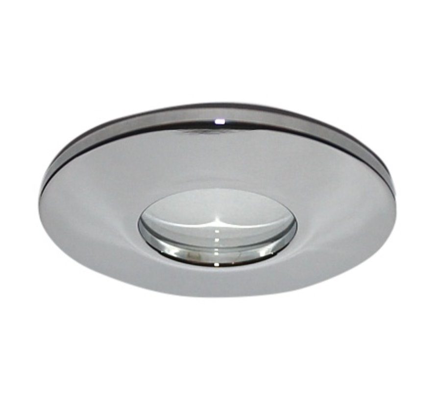 Recessed spotlight / bathroom lamp Minismooth IP65 chrome