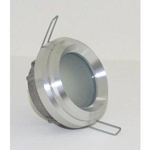 R&M Line Inbouwspot / badkamerlamp Ministeam IP65 35mm alu-mat kantelbaar