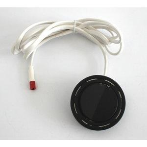 R&M Line Meubel inbouw en opbouw schakelaar AAN / UIT zwart + 2M kabel