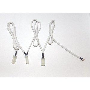 R&M Line Aansluitsnoer 3x 50cm met mini AMP female plug