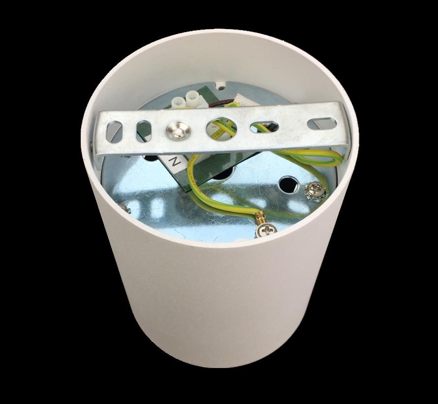 Surface-mounted spotlight Obi1 Round GU10 white