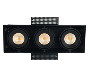 R&M Line Trimless triple LED recessed luminaire