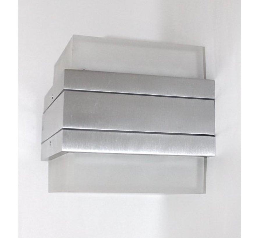 Wall lamp W2 IP54 230v + 2X 5w GX53 2800k LED
