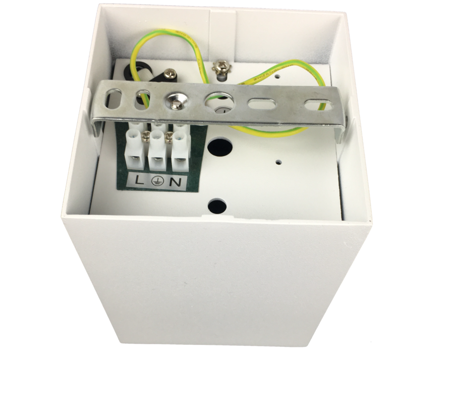 LED opbouwspot wit Obi1 vierkant GU10