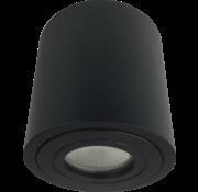 R&M Line Opbouwspot IP44 LED zwart