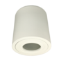 Opbouwspot Solo rond IP44 GU10 LED wit