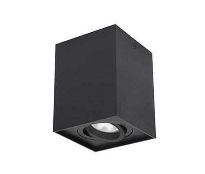 R&M Line Surface-mounted spotlight Obi1 Square GU10 black