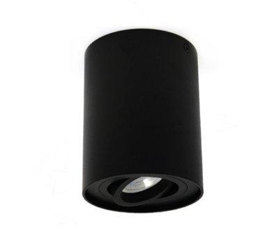 R&M Line Surface-mounted spotlight Obi1 Round GU10 black