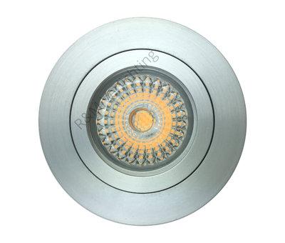 R&M Line Downlight Fix blade round GU10 230v aluminium