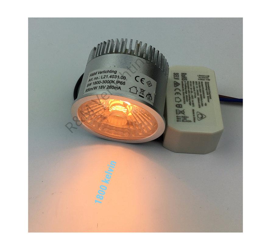 LED module 6W IP65 Dim to warm 1800k ~ 3000k