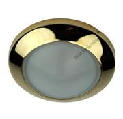 R&M Line Inbouwspot Dome 12v max. 20w goud