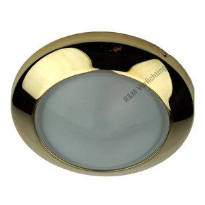 R&M Line Meubel inbouwspot Dome 12v max. 20w goud