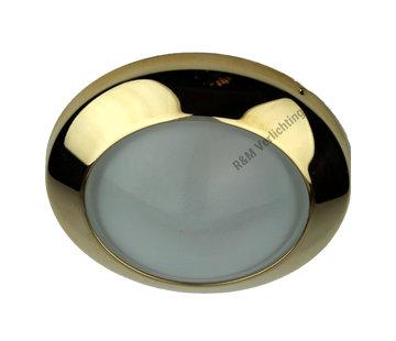 R&M Line Downlight Dome 12v G4 14w gold