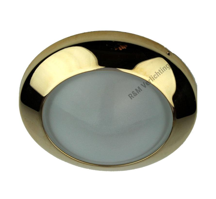 Meubel inbouwspot Dome 12v max. 20w goud