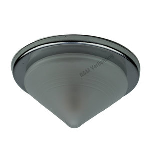 R&M Line Furniture recessed spot Pyramid chrome  with glass and G4 fitting 12v