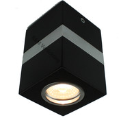 R&M Line Handmade ceiling lamp Gaia black