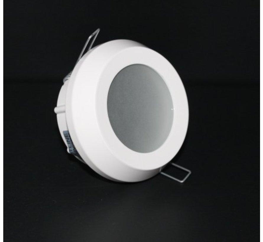 Inbouwspot / badkamerlamp Steam IP65 Wit kantelbaar