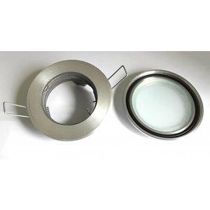 R&M Line Inbouwspot / badkamerlamp Steam flat IP65 aluminium