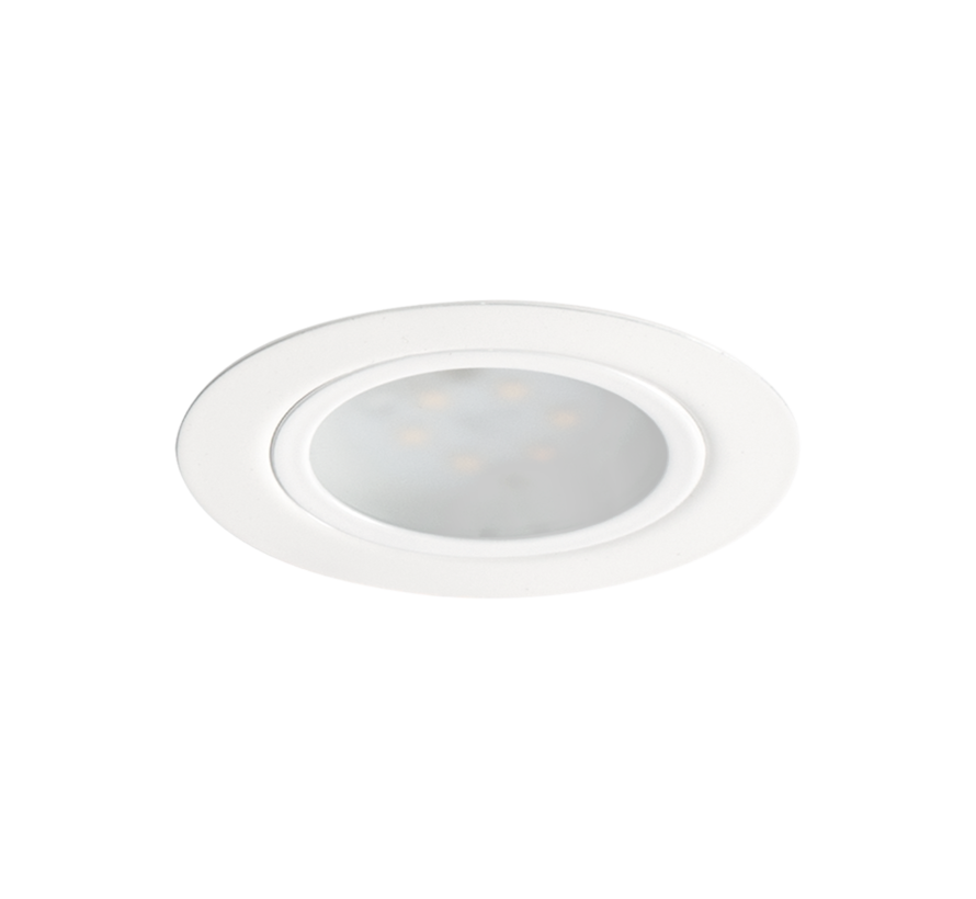 Cabinetspot LED Accent Two rond wit 3,15w 350mA