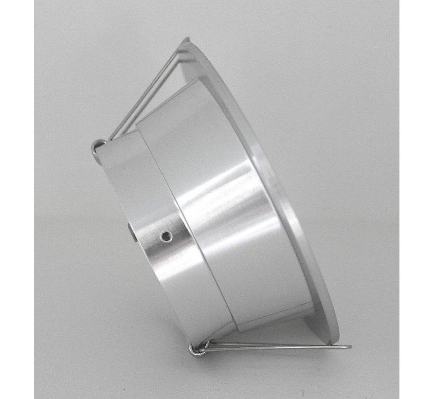 Inbouwspot rond 12v/230v ANTI-GLARE kantelbaar