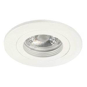 R&M Line Downlight Fix blade round GU10 230v white