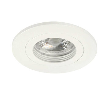 R&M Line Downlight Fix blade round white GU10