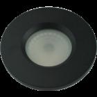 Basic Inbouwspot Flat fix IP54 GU10 230v zwart
