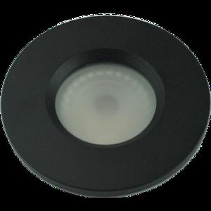 Basic Bathroom downlight Basic Flat fix IP54 GU10 230v wit  black