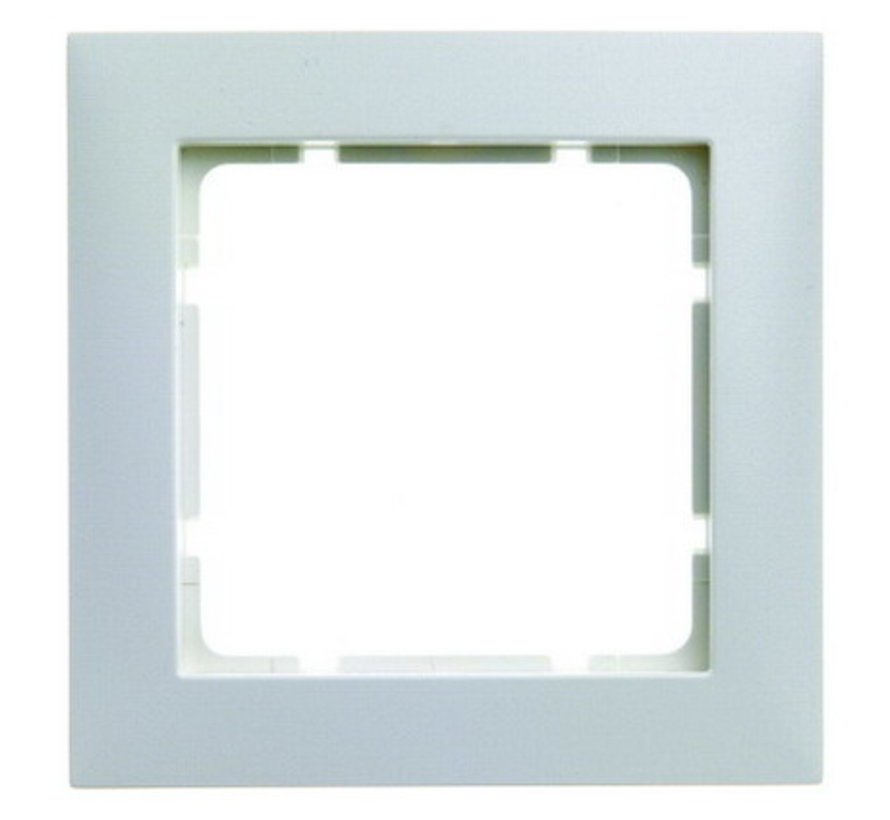 Cover single frame S.1 white for Berker switches
