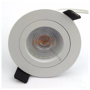 R&M Line Inbouwspot FIX blade rond GU10 230v wit