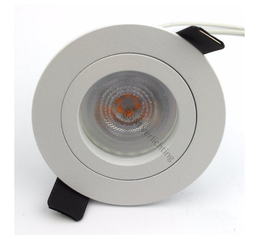 Inbouwspot FIX blade rond GU10 230v wit