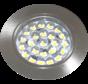 LED cabinet lighting flat 12v 1.7w SMD IP44 satin nickel