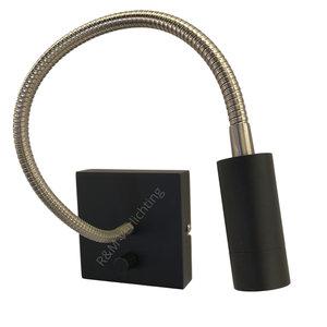 R&M Line Wall lamp LED flex Blitz Black 3 watt dimmable