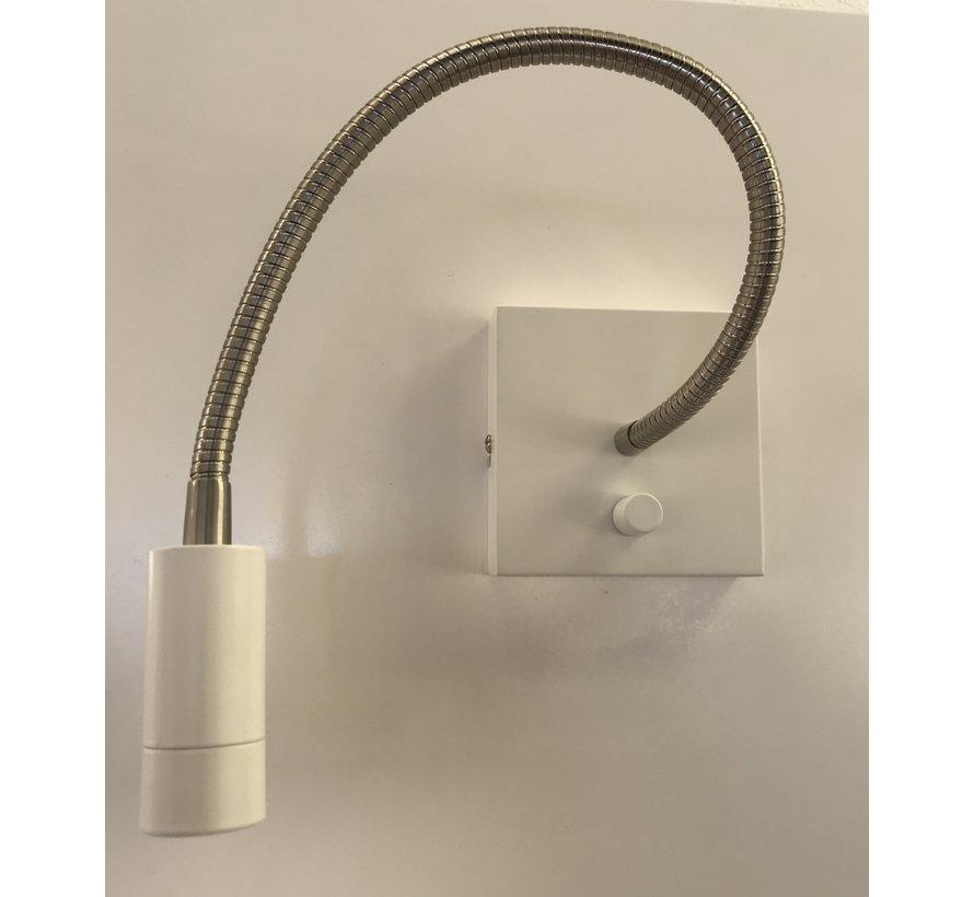 Wandlamp LED flex Blitz wit 3 watt dimbaar