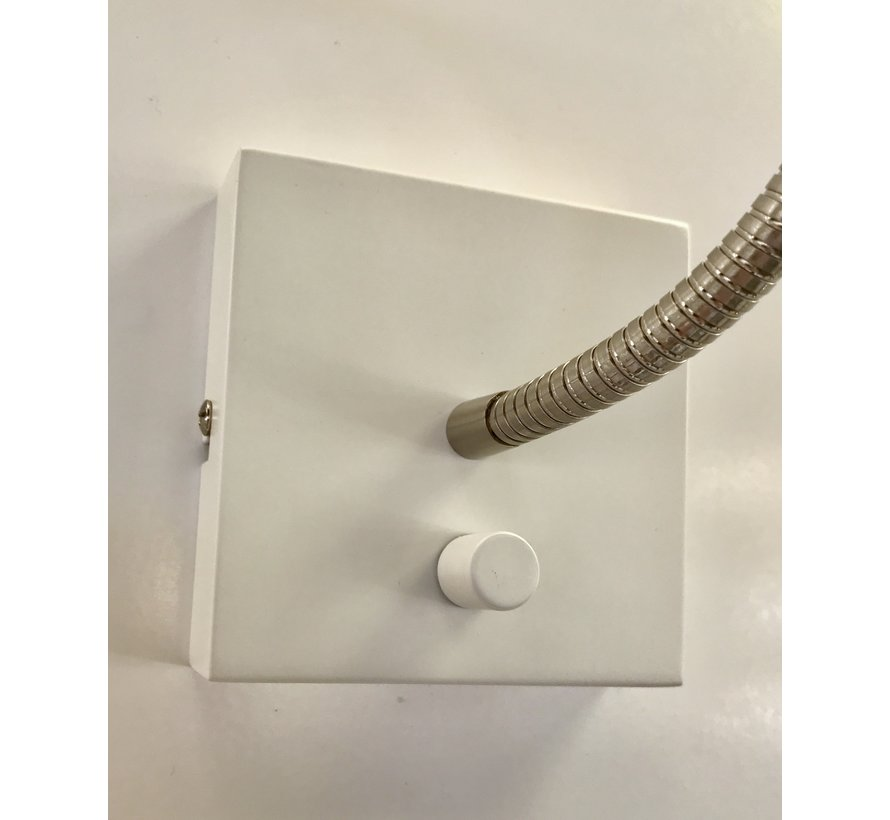 Wall lamp LED flex Blitz whit 3 watt dimmable