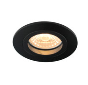 R&M Line Downlight FIX Blade round black GU10
