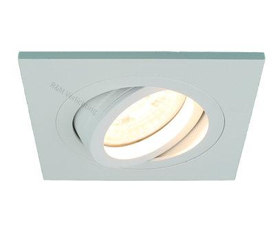 R&M Line Recessed downlight Tilt Blade Q white 12v/230v