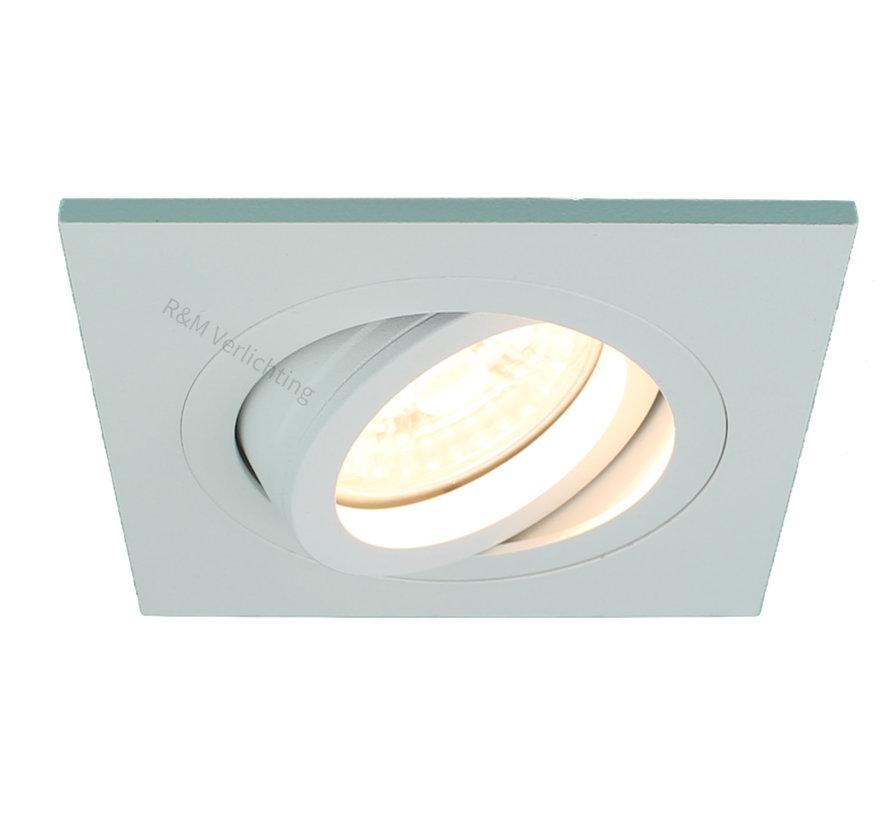 Recessed downlight Tilt Blade Q white 12v/230v