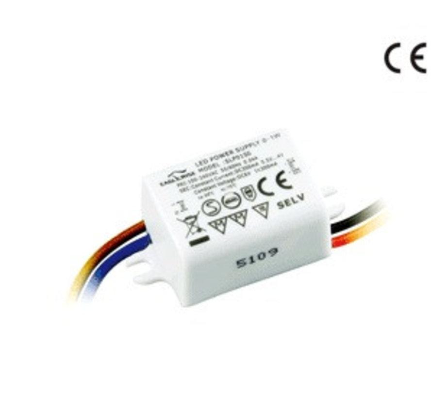 LED driver SLP03SS  CC 350mA 3 Watt niet dimbaar