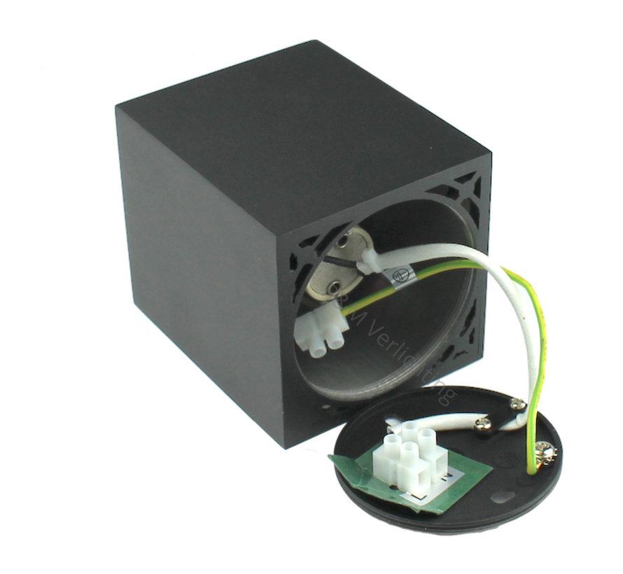 Surface-mounted spot Rebel GU10 black