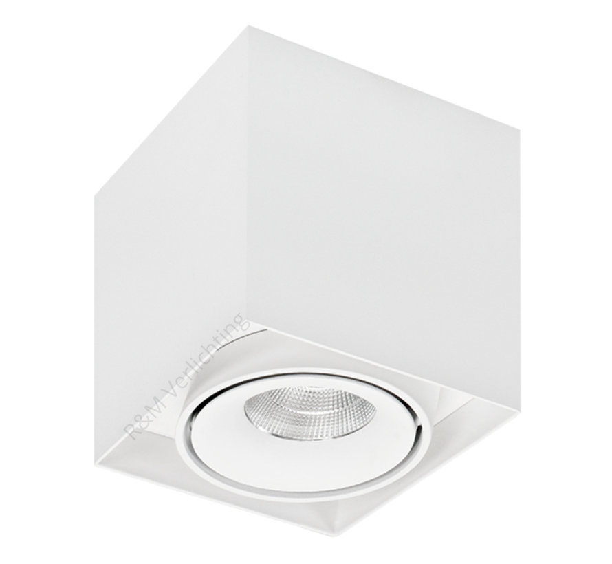 Surface-mounted Luminaire LED 1-light white 2700K Dimmable