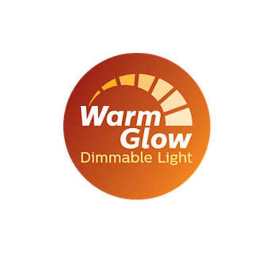 WarmGlow LED spot GU10 2.6W = 35W dimbaar 2200-2700kelvin