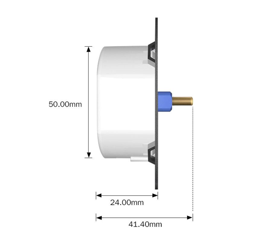 Universal LED wall-dimmer 5-150Watt