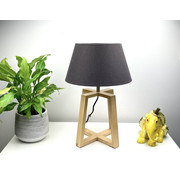Highlight Table lamp Quatro wood