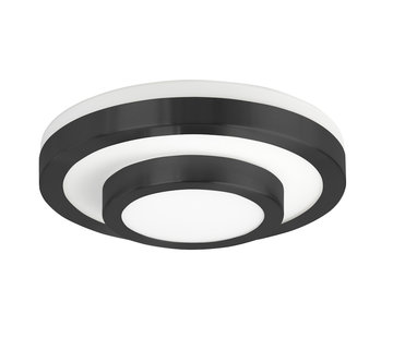 Highlight Ceiling lamp IP44 black small