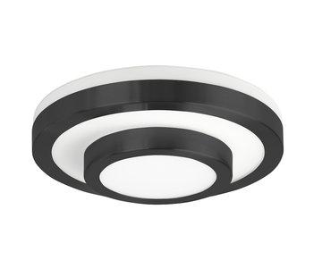 Highlight Plafondlamp IP44 zwart klein