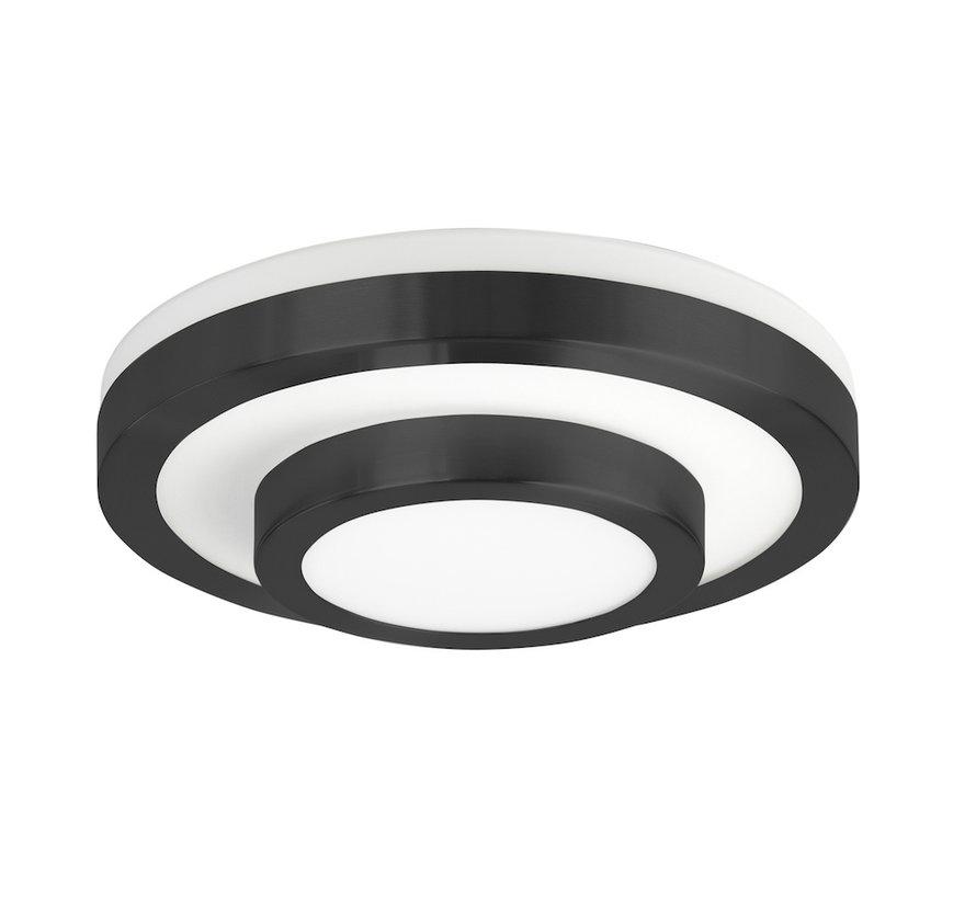 Plafondlamp LED Master Zwart Klein IP44