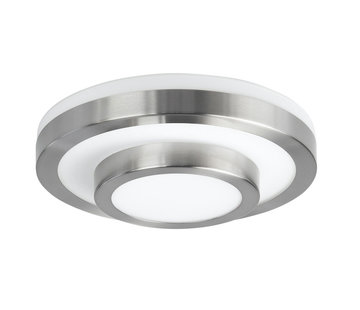 Highlight Ceiling lamp IP44 satin-nickel small